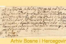 Mjenica trgovca Stefana Jovanovića iz 1761. godine